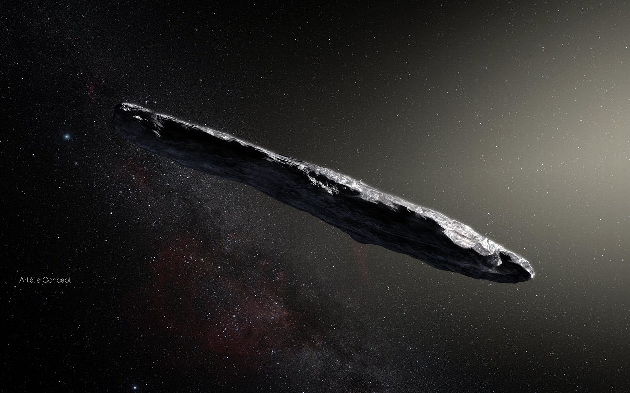 Oumuamua asteroide interestelar