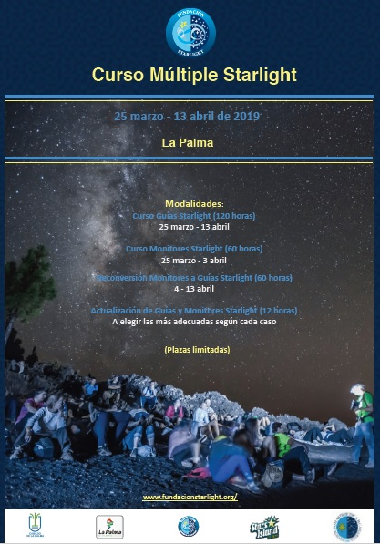 Cartel curso starlight