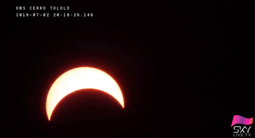 eclipse solar 2 de julio
