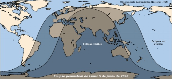 Eclipse luna 5 junio